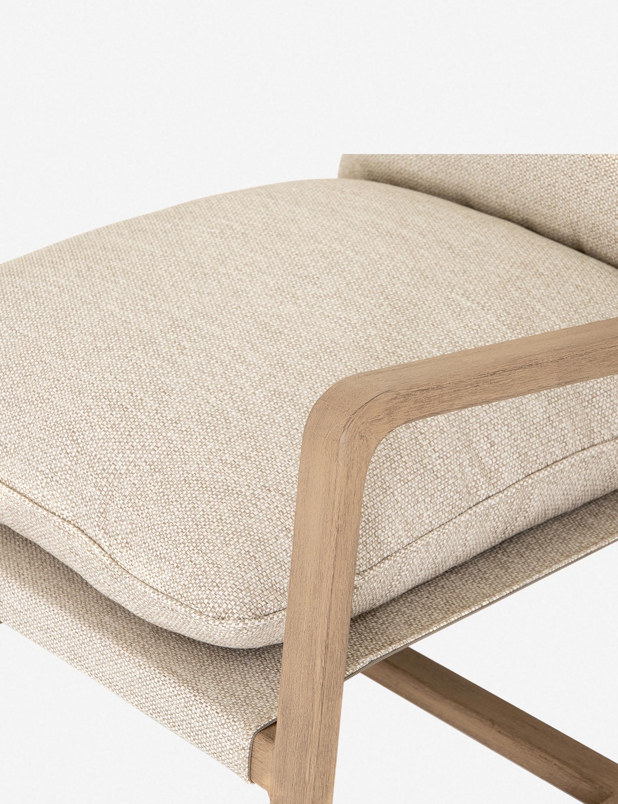 Nunelle Indoor/Outdoor Chair, Faye Sand