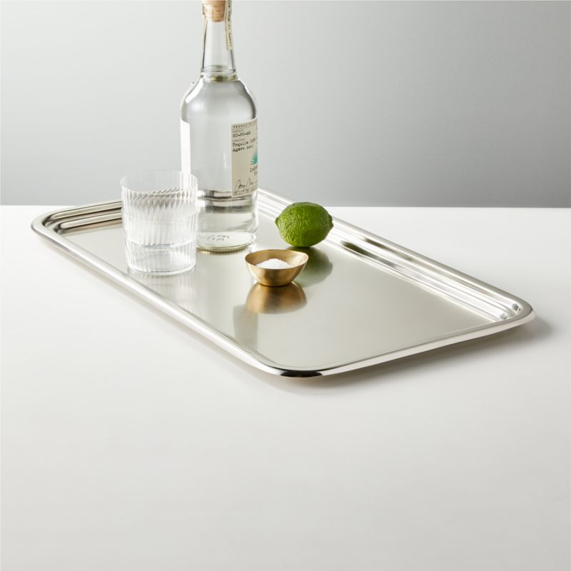 Newman Pewter Bar Tray