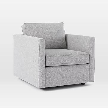 Harris Chair, Performance Coastal Linen, Stone White
