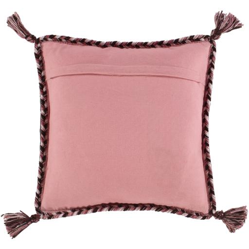 "Azariah Pillow Cover, 20"" x 20"", Pink"