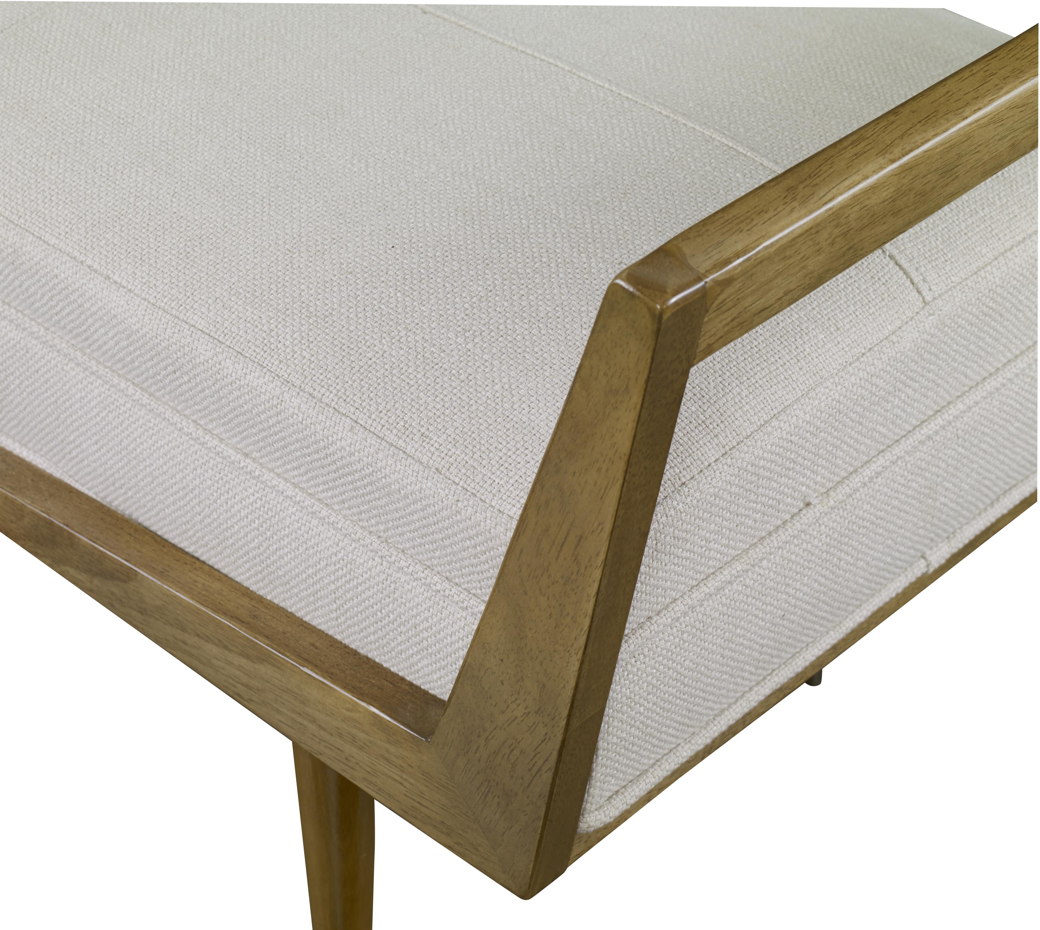 Waylon Modern Ivory Bench