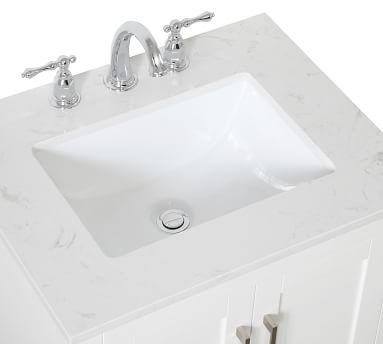 """Belleair 24"""" Single Sink Vanity, Espresso"""