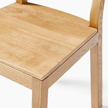 Tahoe Dining Chair, Blackened Oak, Set of 2
