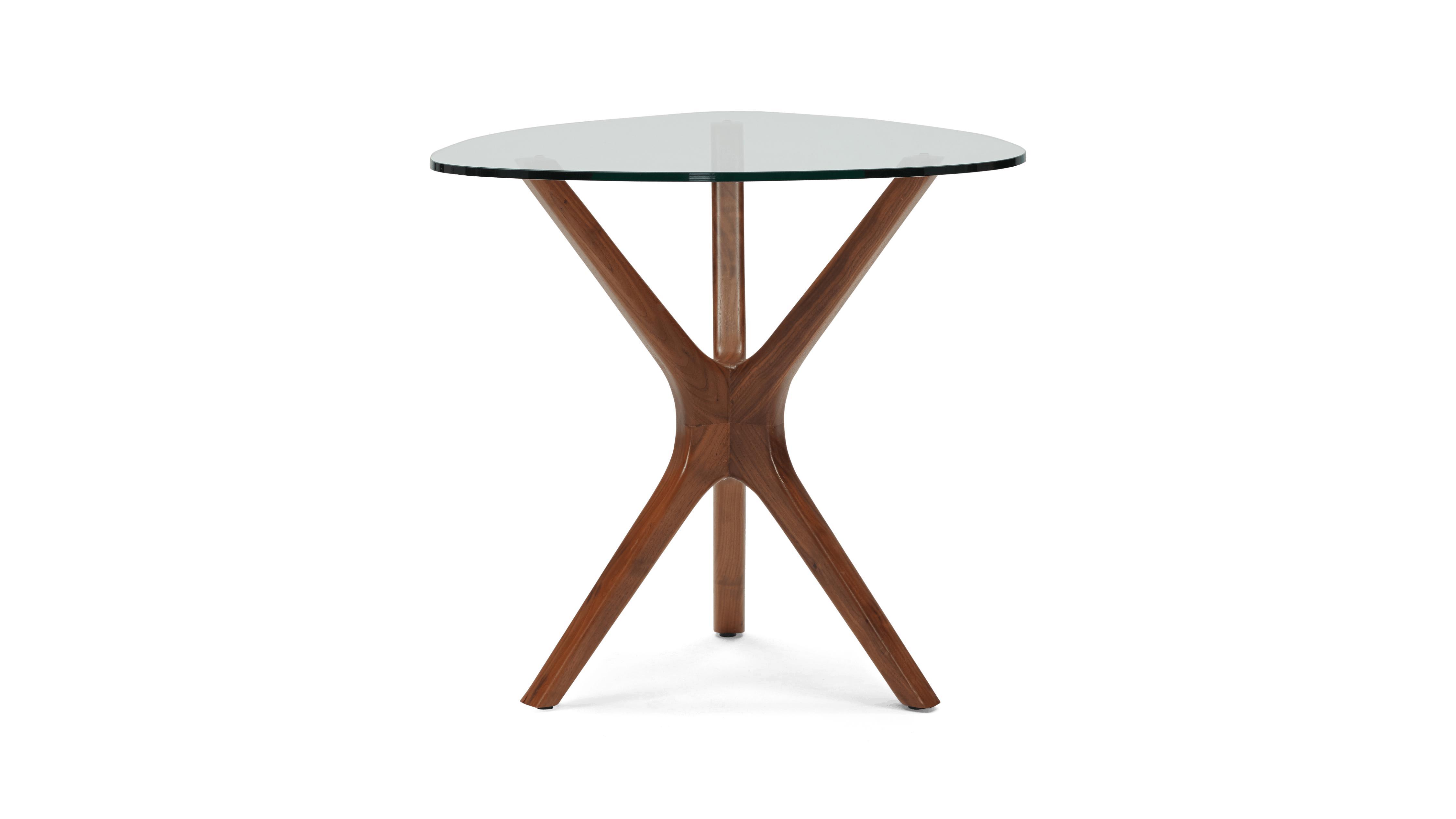Tolson Mid Century Modern End Table - Walnut