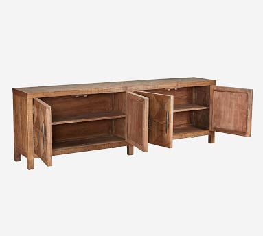 "Jovi 103.5"" Reclaimed Wood Buffet, Natural"