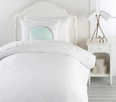 Organic Super Soft Duvet, Standard Sham, White