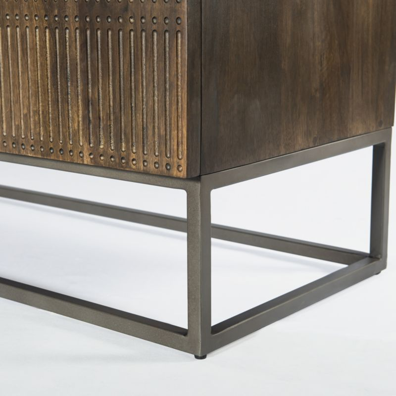 Ivan Media Console with Drawers
