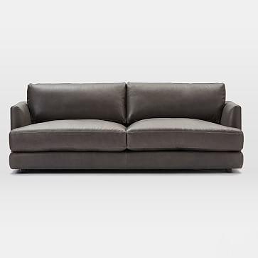 Haven Sofa, Trillium, Vegan Leather, Molasses