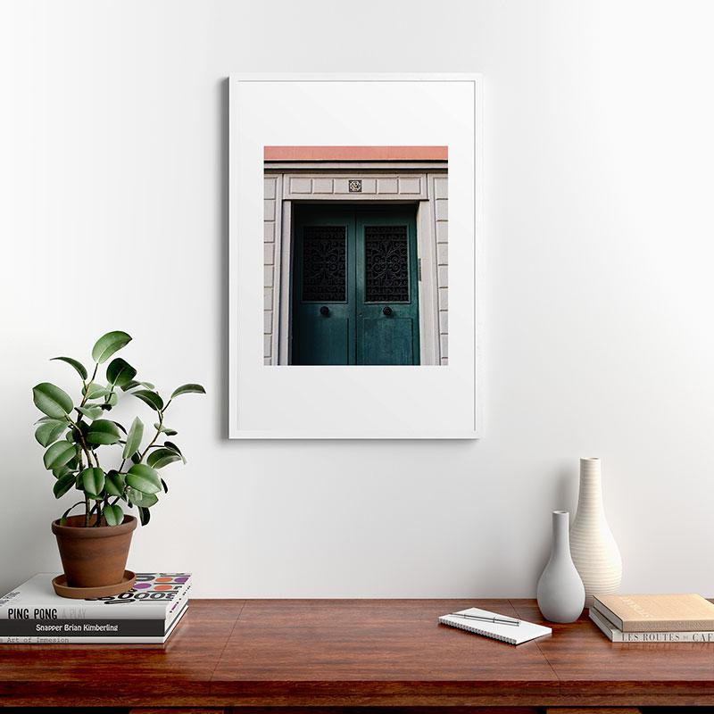"""Montmartre V by Bethany Young Photography, Modern Framed Art Print, White, 24"""" x 36"""""""