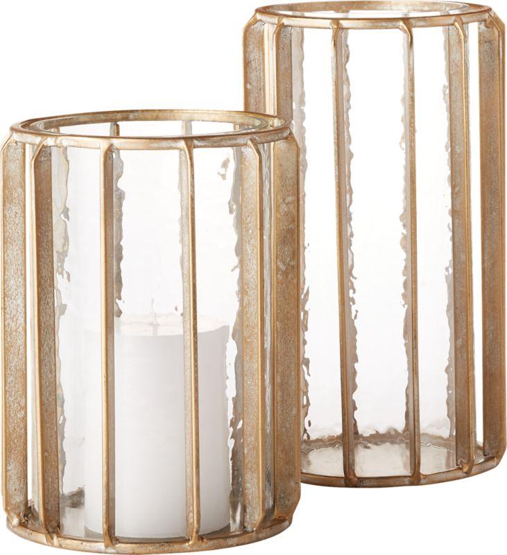 Gamma Glass and Brass Hurricane Large