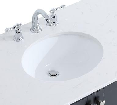 """Riola 48"""" Single Sink Vanity, Black"""