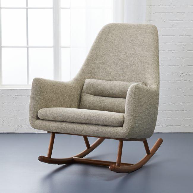 Saic Quantam Gunsmoke Rocking Chair