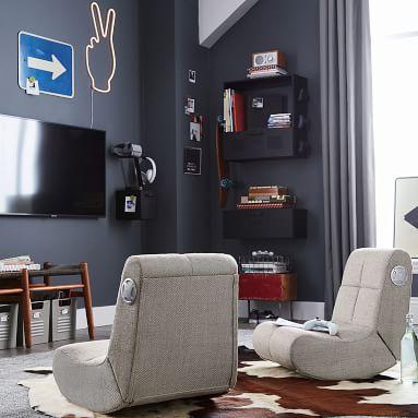 Gaming Wall Storage, Small, Black