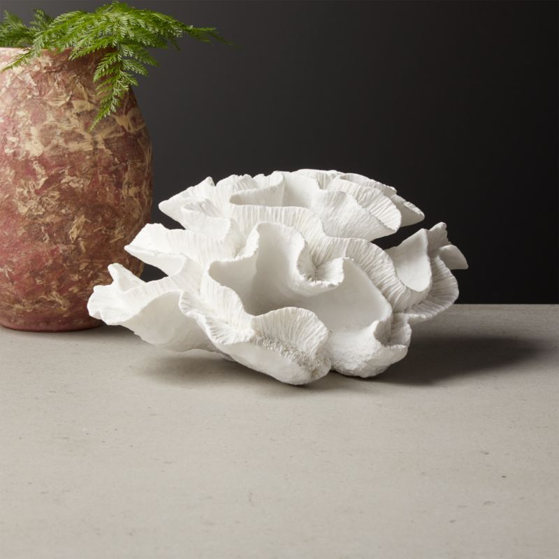 Faux White Coral Object