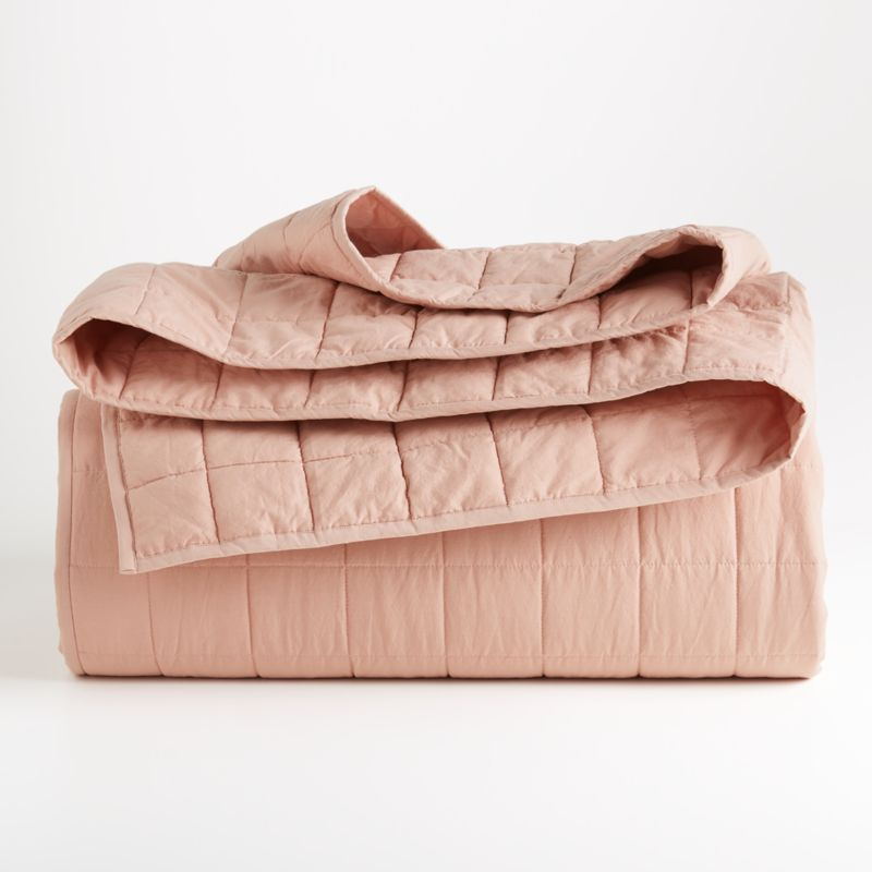 Mellow Blush King Quilted Sham