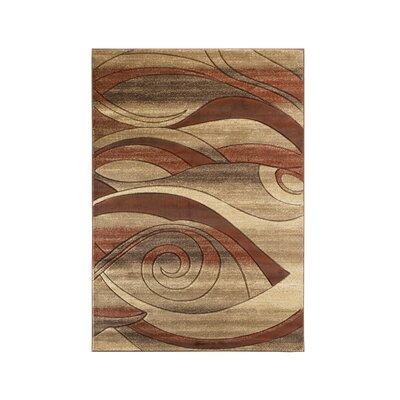 Adonia Abstract Beige Brown Area Rug Wayfair