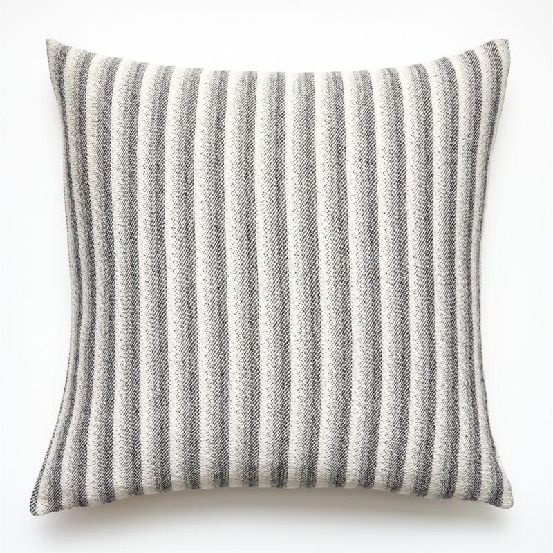"23"" Rhone Stripe Pillow with Down-Alternative Insert"