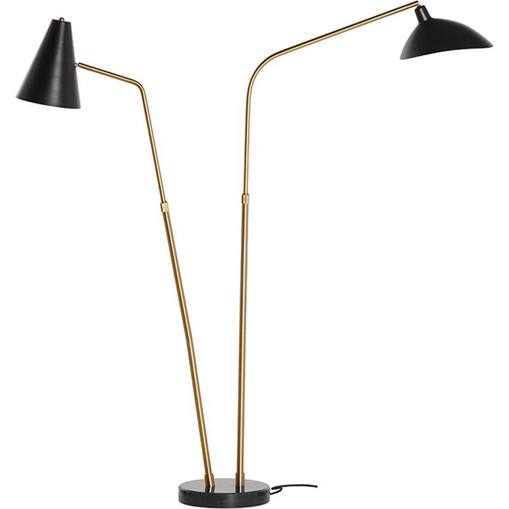 Annika Floor Lamp, Black