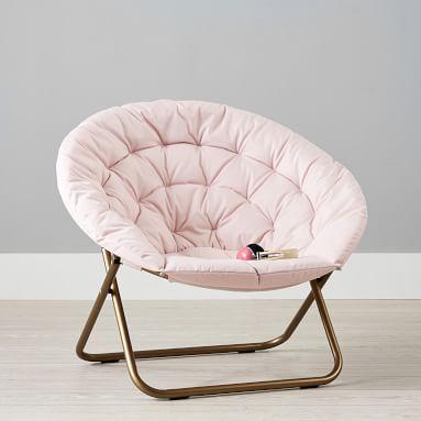 Canvas Blush Hang-A-Round Chair