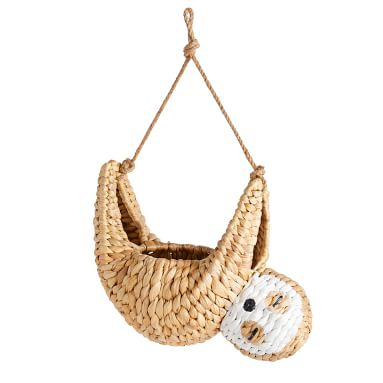 Woven Novelty Sloth Catchall