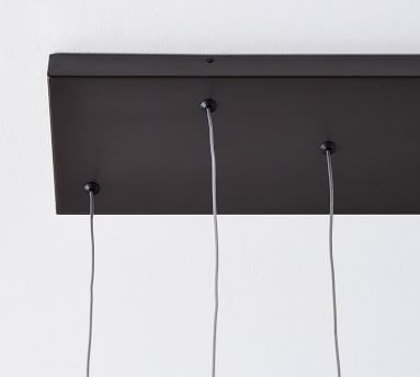 Mollie LED Multi-Light Linear Pendant, Bronze