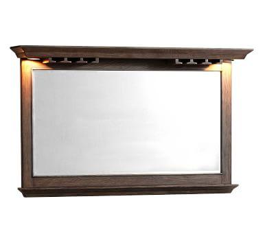 Bixby Bar Mirror, Charcoal