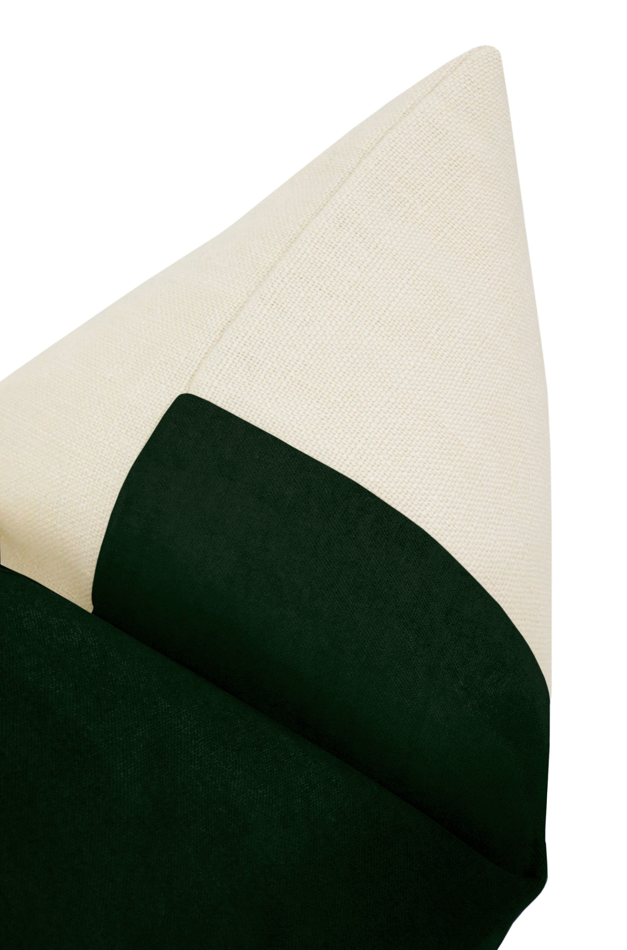 "PANEL :: Classic Velvet // Emerald - 18"" X 18"""