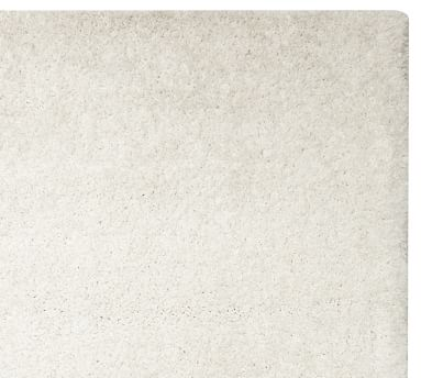 Microplush Shag Easy Care Rug, 5 x 8', Ivory