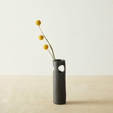 Cenote Vase, Black, Small