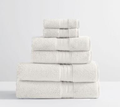 Light Fig Hydrocotton Organic Bath/Hand/Washcloth, Set of 6