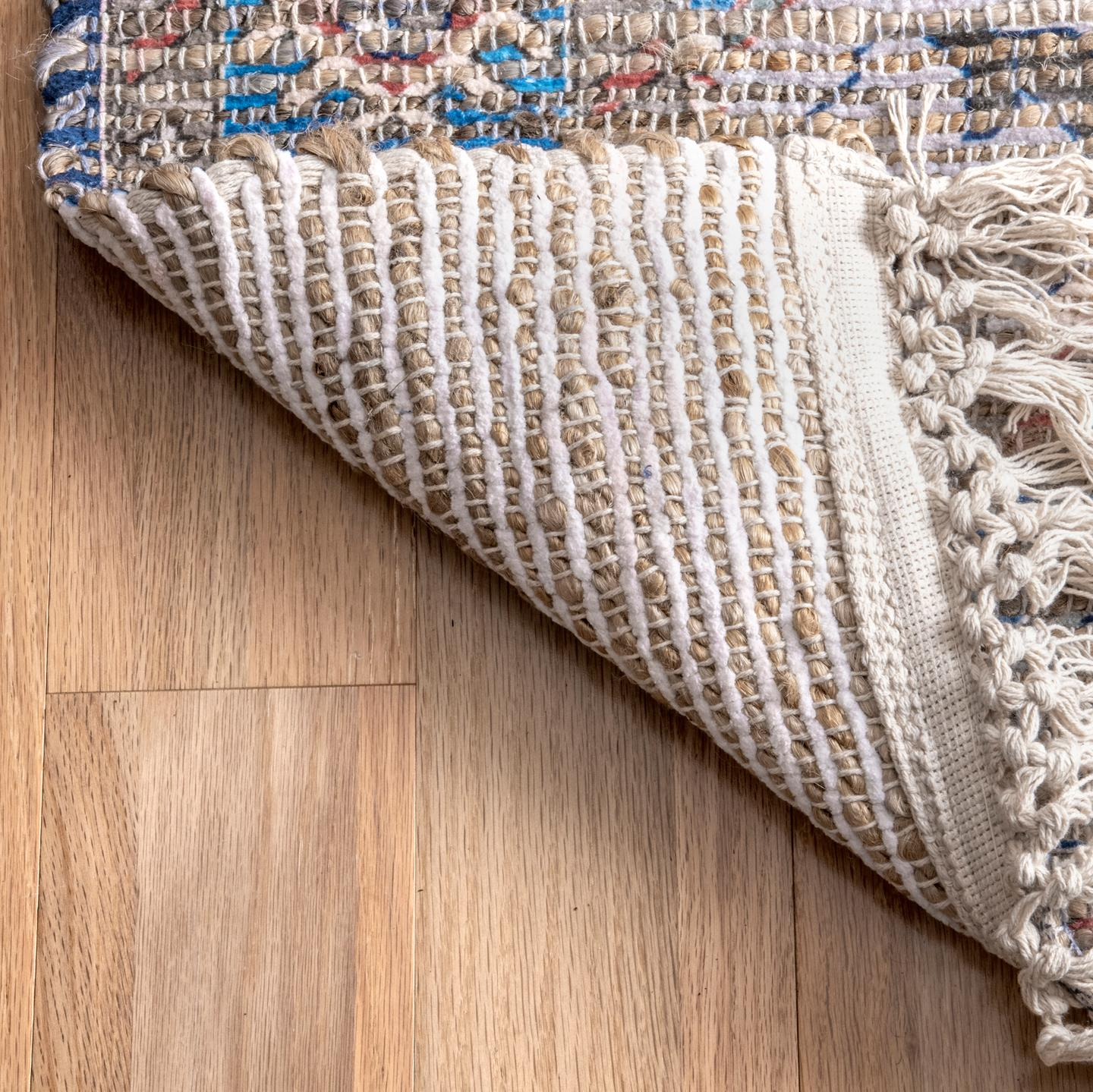 Archer Panelled Tribal Area Rug