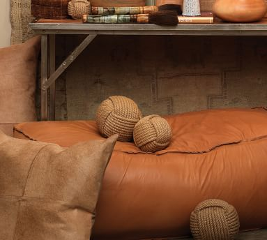 Decorative Jute Balls, Set of 3