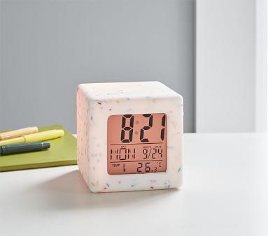 Light Up Confetti Digital Clock