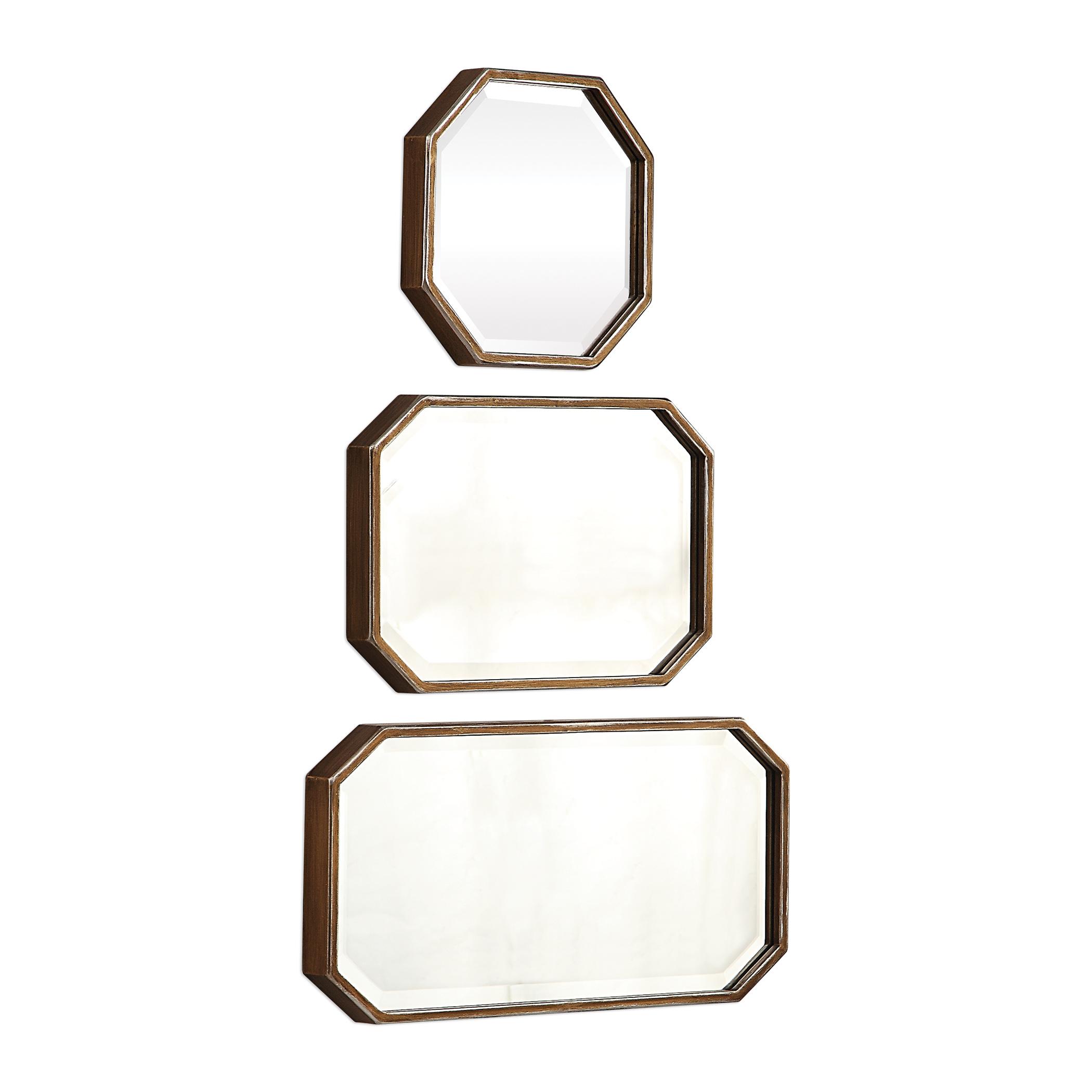 Trois Gold Mirrors, S/3
