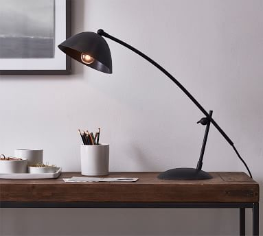 Ellie Task Table Lamp, Bronze