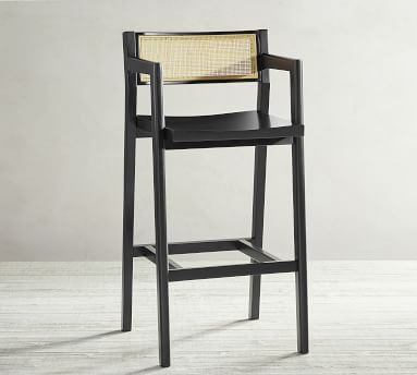 Lakeport Barstool, Black