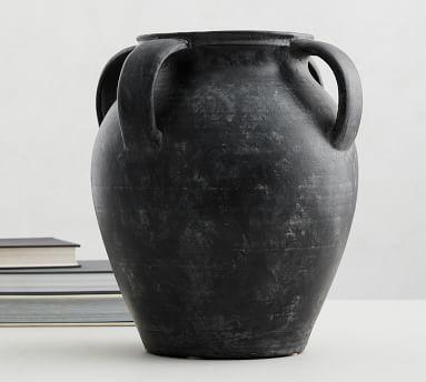 Joshua Vase, Black - Large