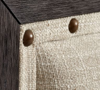 Toulouse Wood Bed, Charcoal, King