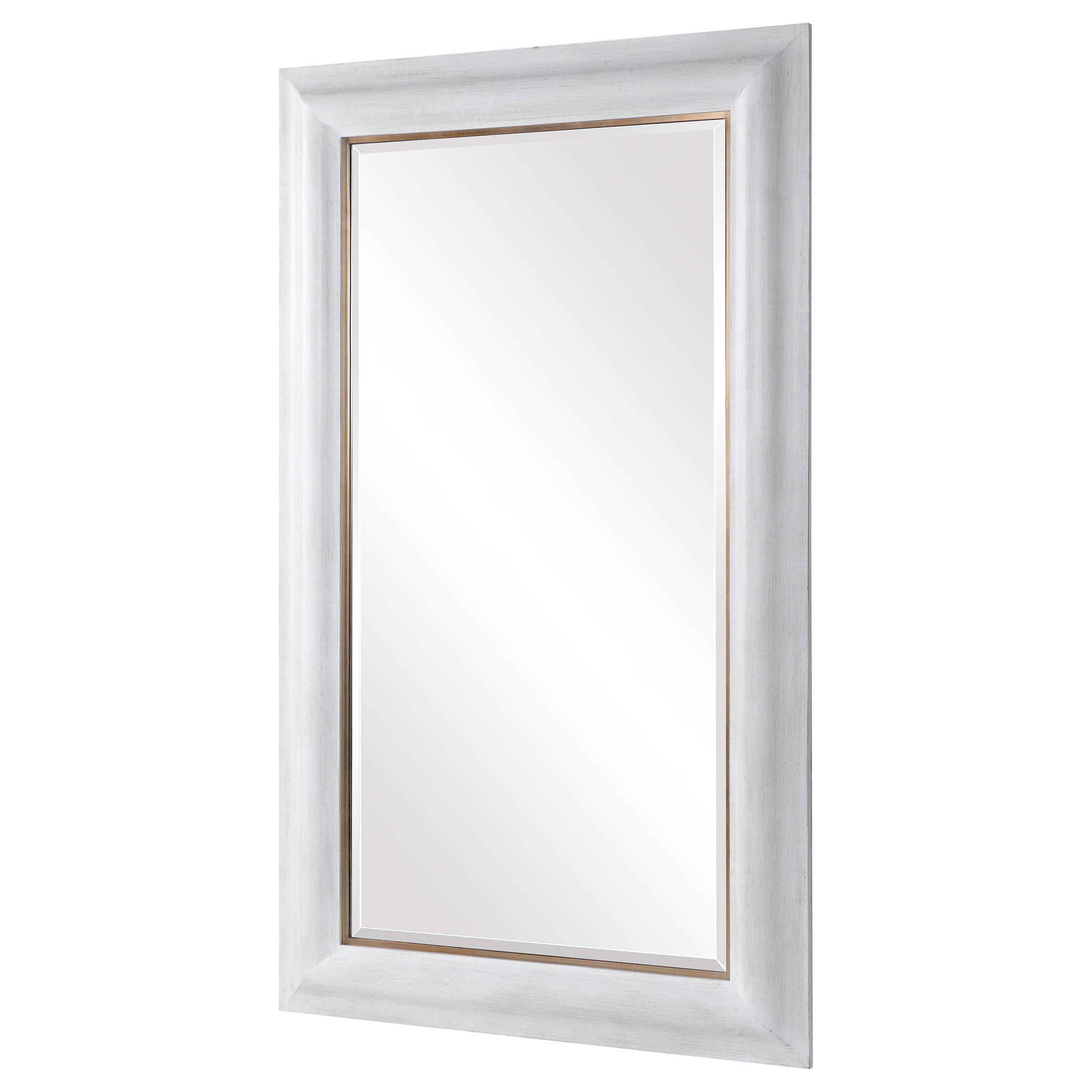 """Piper Mirror, White, 30"""" x 60"""""""