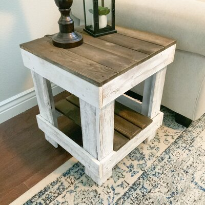 Dohosan Solid Wood End Table With Storage Wayfair