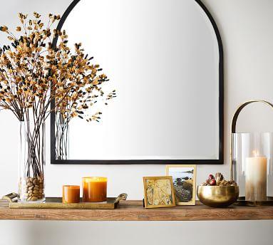 "Layne Mantel Mirror, Bronze - 36"" x 40"""