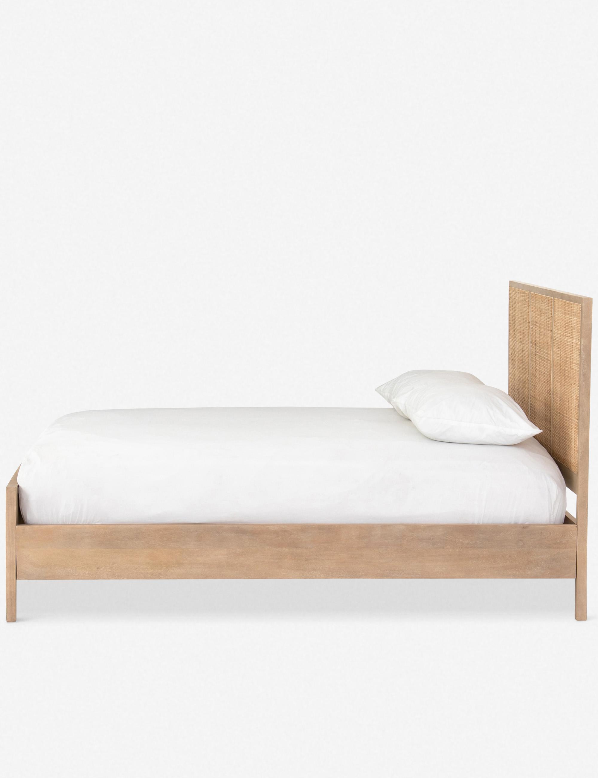 HANNAH PLATFORM BED, NATURAL