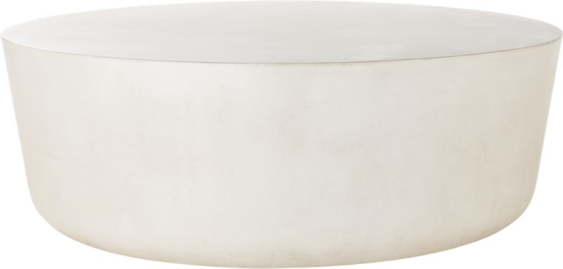 Cap Ivory Cement Large Coffee Table
