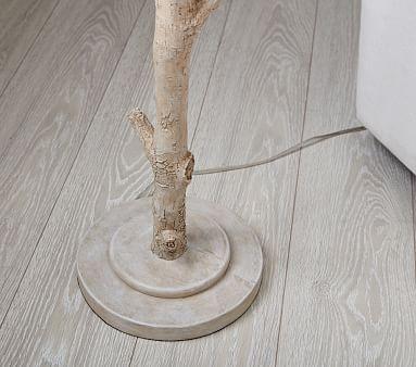 Birch Floor Lamp