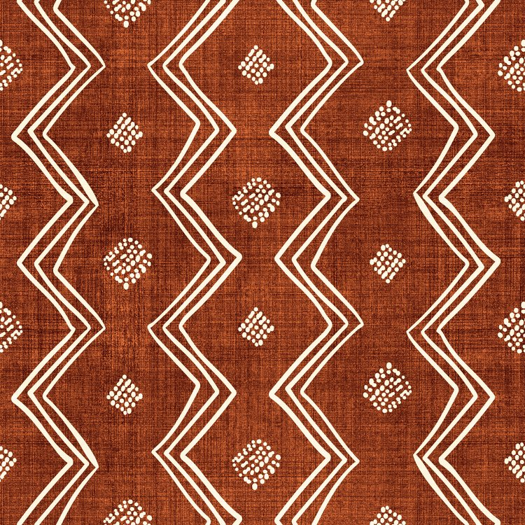 """Village In Rust Couch Throw Pillow by Becky Bailey - Cover (18"""" x 18"""") with pillow insert - Outdoor Pillow"""
