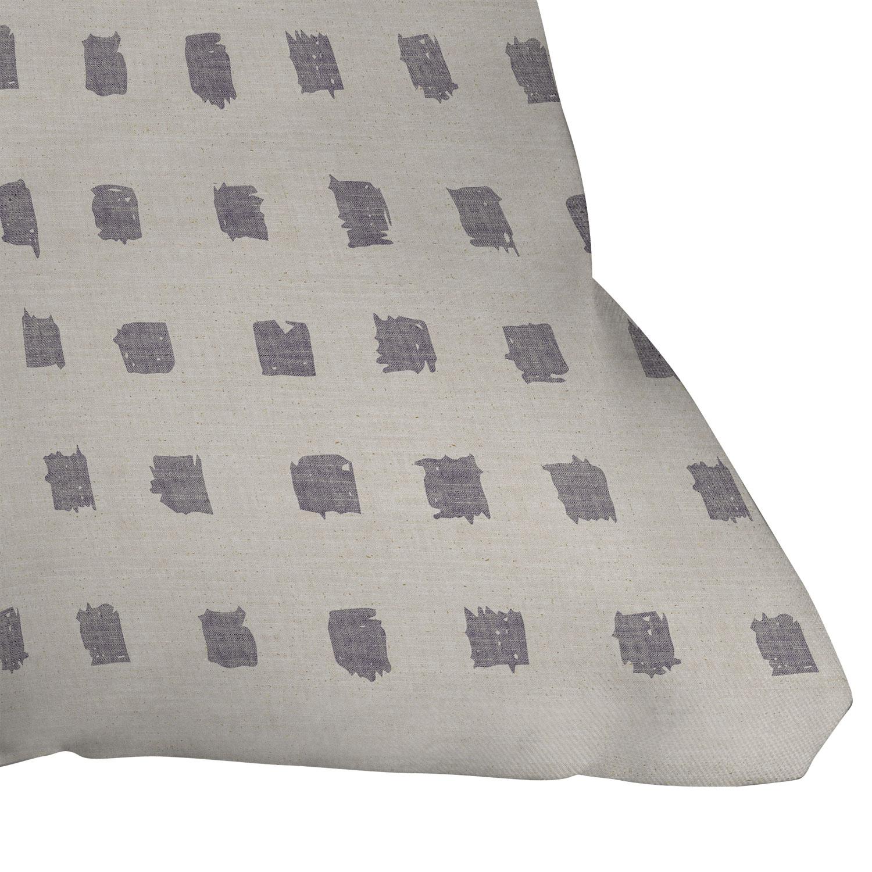 """Earthen Dot by Holli Zollinger - Outdoor Throw Pillow 20"""" x 20"""""""