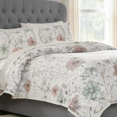 Home Decorators Collection Sidney 3-Piece Clotilde Full/Queen Duvet Cover Set