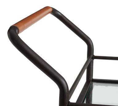 Hugo Bar Cart, Bronze