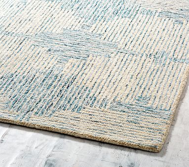 Atlantic Rug, 7x10, Blue