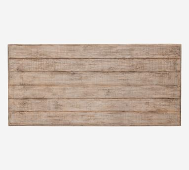 """Bander 64"""" Rectangular Reclaimed Wood Coffee Table, Natural"""